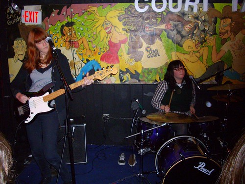 Vivian Girls @ Court Tavern 1/4/09 | by thepiratehat