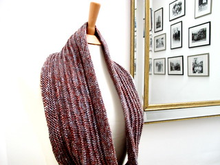 Purl Ridge Scarf | by isabelle304