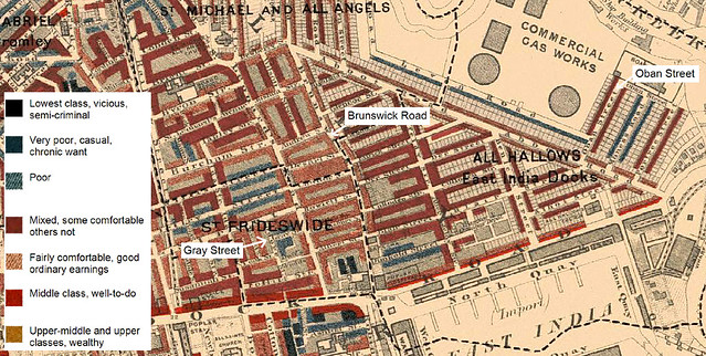 Charles Booth Poverty Map Of Bow London 1898 1899 Flickr