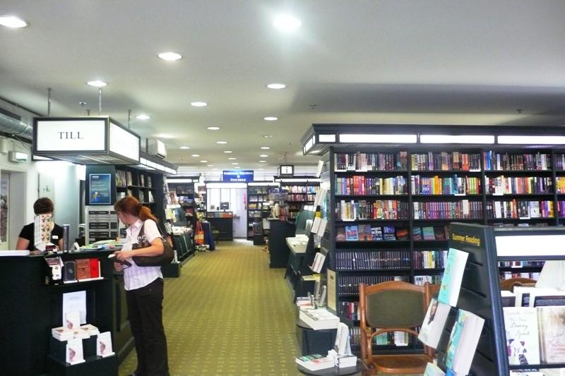 Stauffacher Book shop, English dept., Bern
