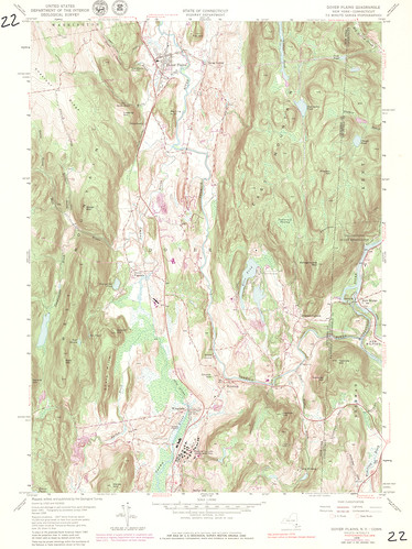 Dover Plains Quadrangle 1976 - USGS Topographic 1:24,000 | by uconnlibrariesmagic