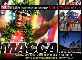 Chris McCormack Meet 'n Greet at Clif Bar! | by ClifBar&Co