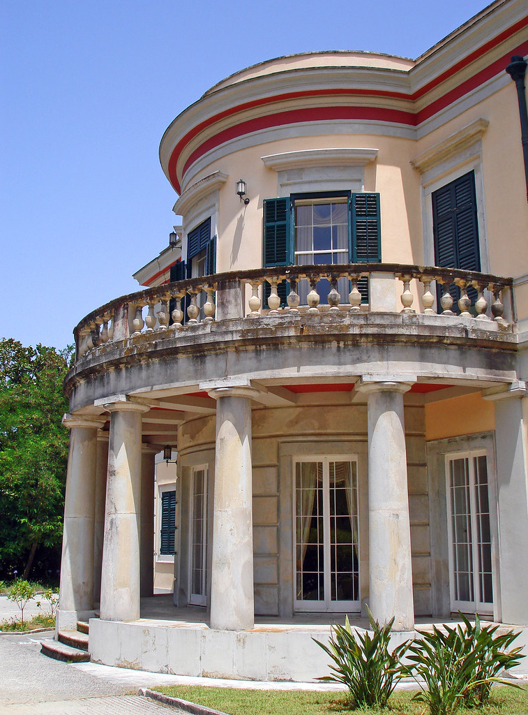 Mon Repos Corfu Built In 1831 The Mon Repos Palace Is