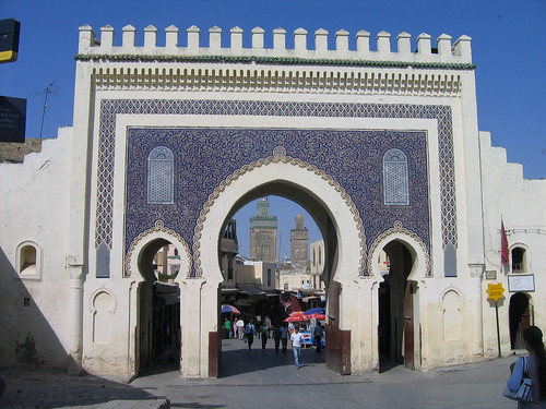 Gates of the Old Medina in Fes | by Lietmotiv