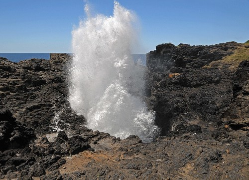 Kiama Blowhole, NSW | Blowing this time! The famous Kiama ... Big Brother