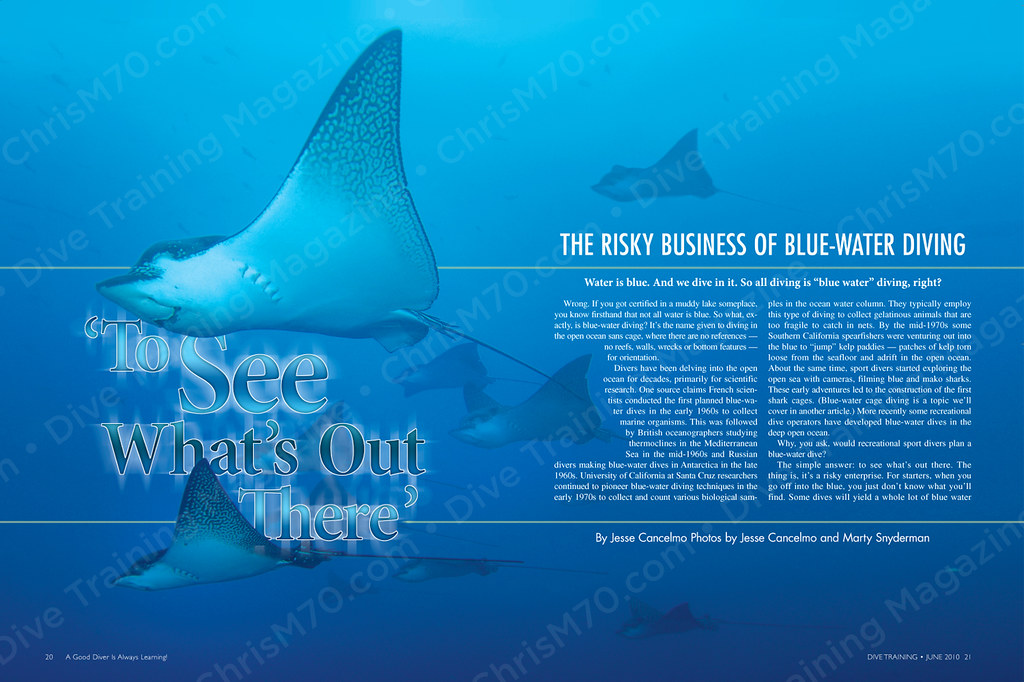 39 to see what 39 s out there 39 dive training magazine flickr - Dive training magazine ...
