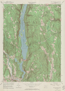 New Hartford Quadrangle 1956 - USGS Topographic Map 1:24,000 | by uconnlibrariesmagic