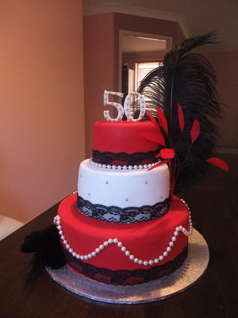 50th Birthday Cake 50th Birthday Cake The Theme Was
