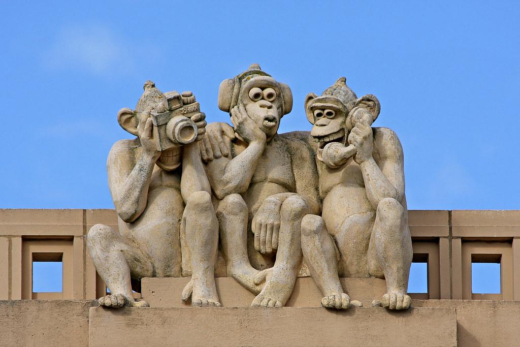 Three Wise Monkeys Drawings Three Wise Monkeys Flickr