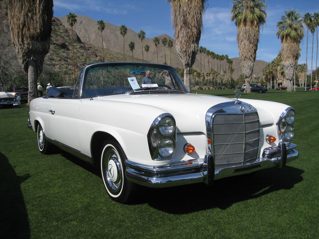 mercedes benz 220se 1971 palm springs desert classic