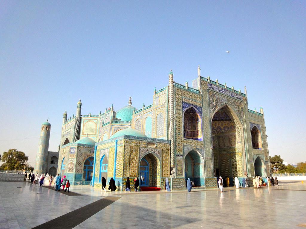 Blue Mosque Mazar E Sharif Afghanistan Johannes