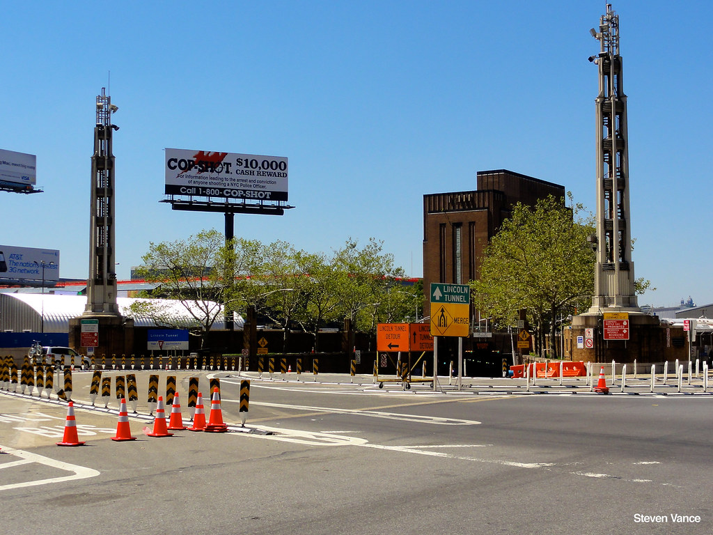 Lincoln Tunnel Entrance Contact Me If You Want To Use A