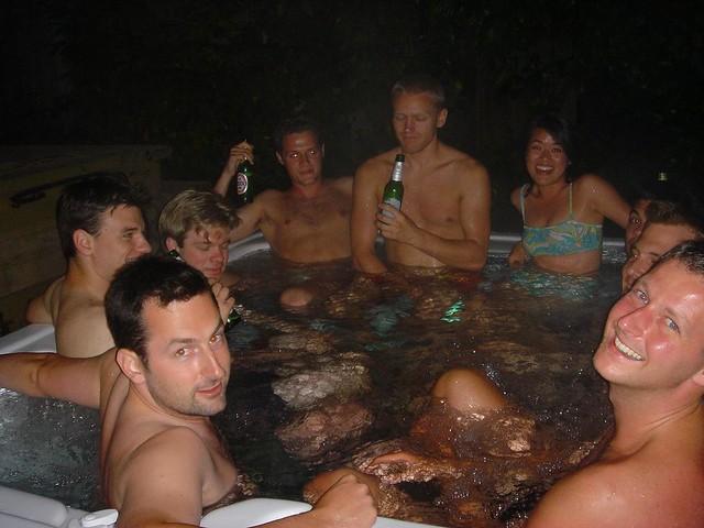 Berkeley Hill Hot Tub Party   Daisy He   Flickr