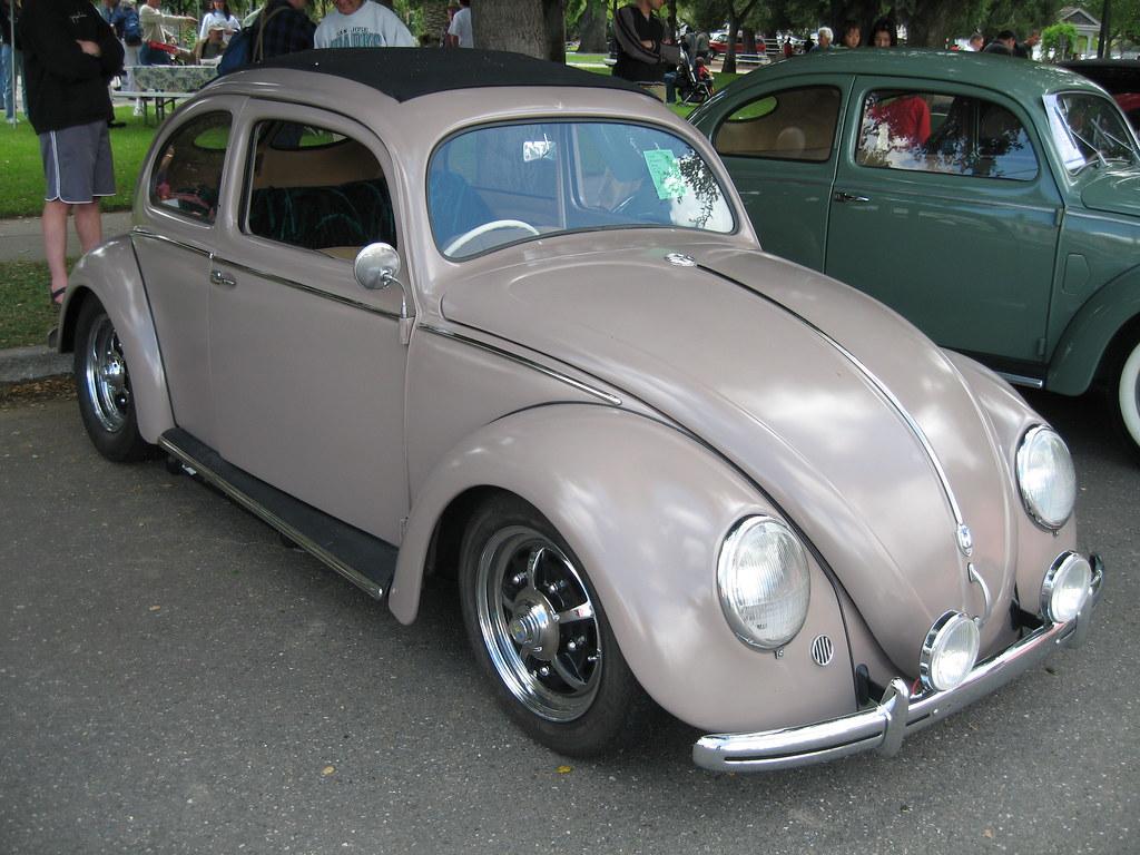 1950 vw bug ragtop tom donohue flickr