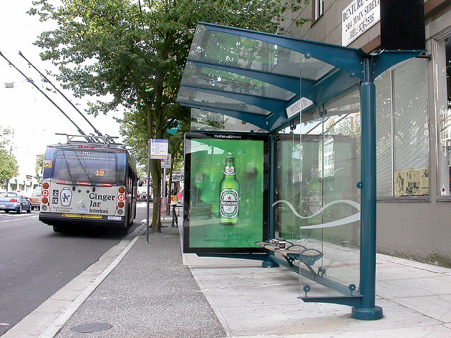 Bus Shelter Vancouver Vancouver Photo By Matthew