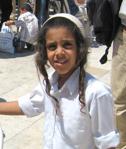 Jewish Quarter -- Western Wall -- Orthodox Jewish Boy | Flickr - Photo Sharing!