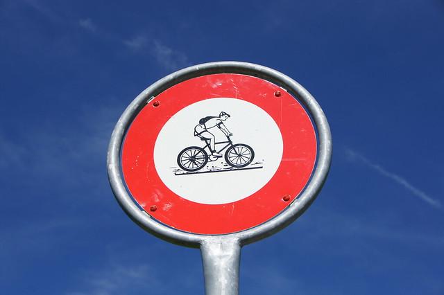 no bikers