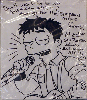Simpsons characters at the Kwik E Mart - Billie Joe (Green Day) | by dogwelder