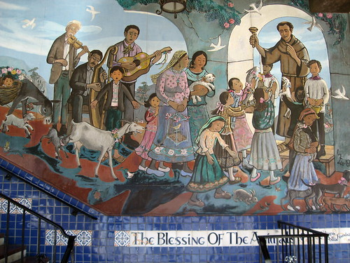 The Blessing of the Animals Mural | by Floyd B. Bariscale