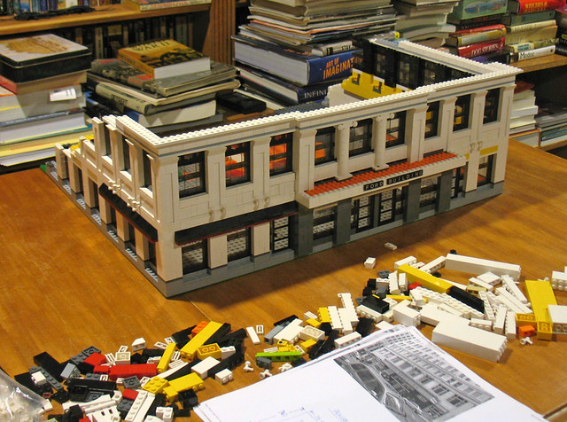 Ford building construction of lego model day 3 this - Modele construction maison lego ...