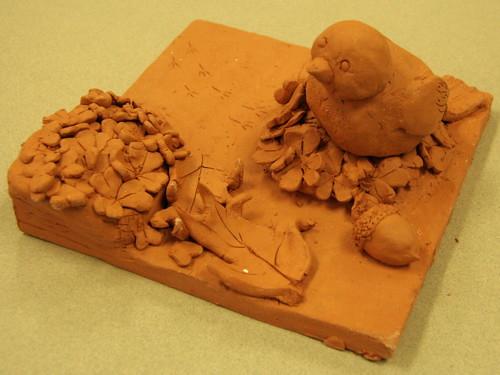 Ceramic Tile On Kitchen Island Backsplash