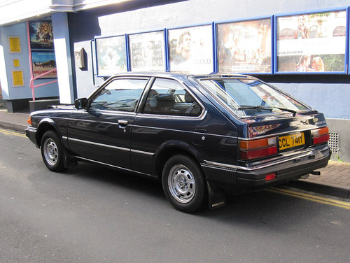 1982 honda accord 1 6 hatchback damage aside what a. Black Bedroom Furniture Sets. Home Design Ideas