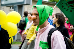 Anti-G8 Demonstrations (08) - 03Jun07, Rostock (Germany)