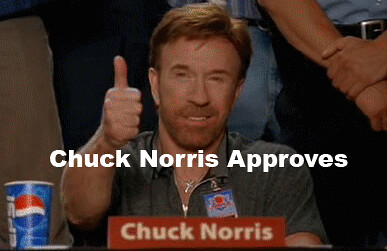 Chuck Norris Approves ...