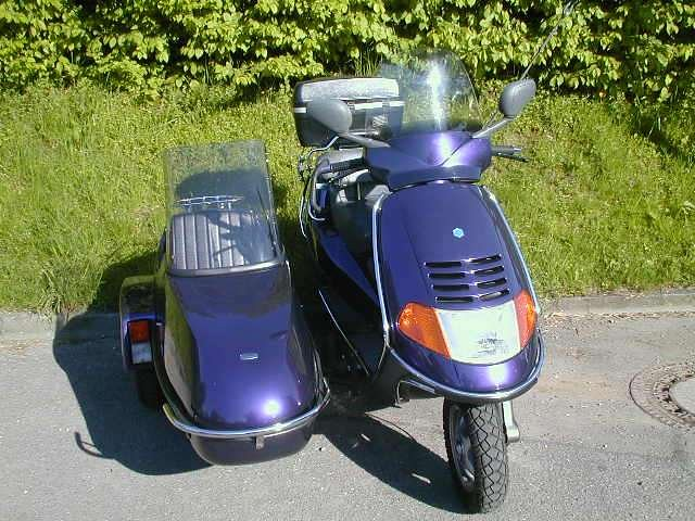 piaggio hexagon 150 sidecar 1series scooterworld flickr. Black Bedroom Furniture Sets. Home Design Ideas