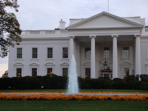 White house, front door | Washington DC (Oct 29-31) | Flickr