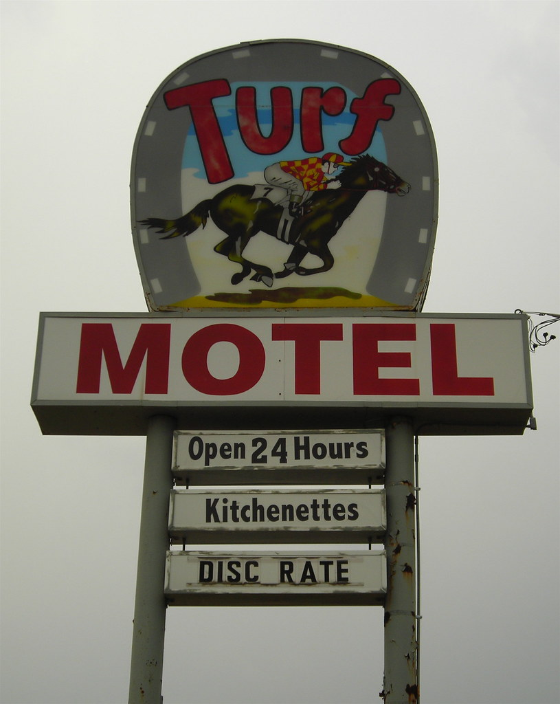 Turf motel classic sign route 1 laurel maryland for Route 1 motors inc laurel md