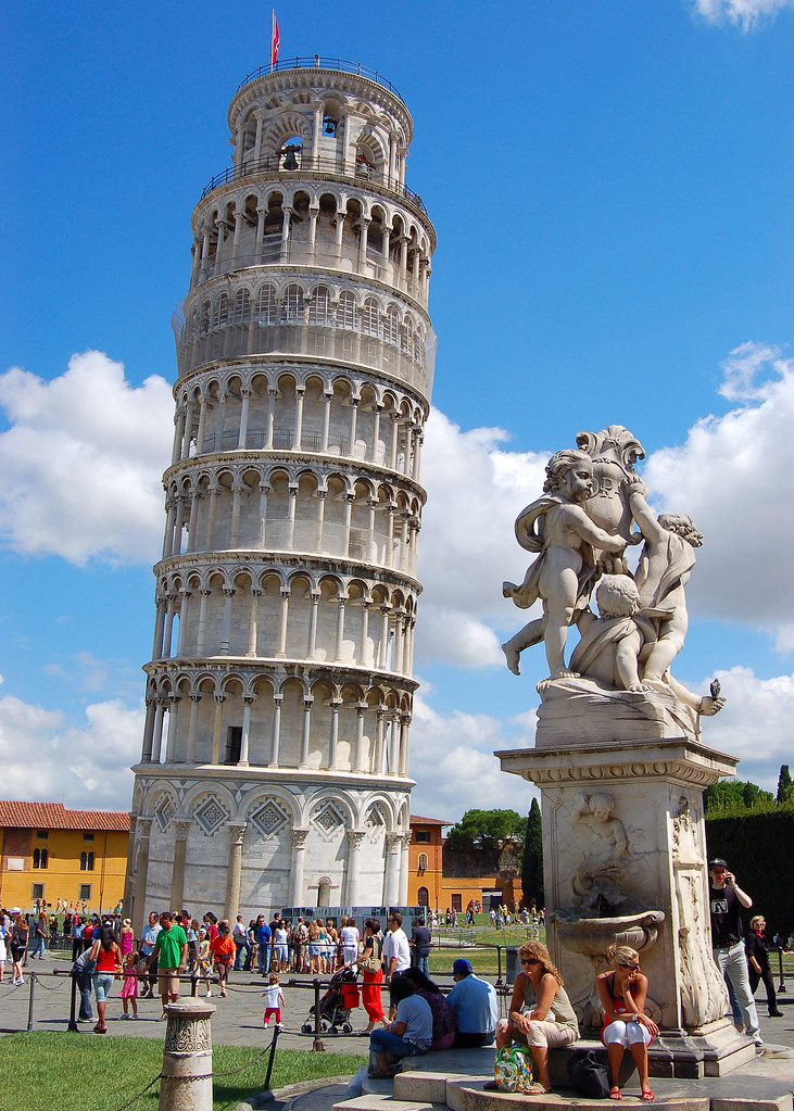 Leaning Tower Of Pisa The Tower Of Pisa Was A Work Of
