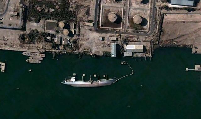Google Earth Strange Views A Ship At Vasora Published At