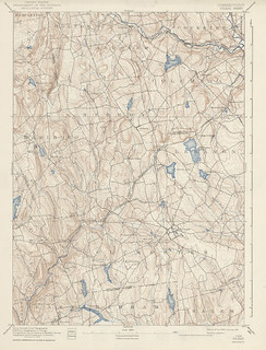 Gilead Sheet 1942 - USGS Topographic 1:62,500 | by uconnlibrariesmagic