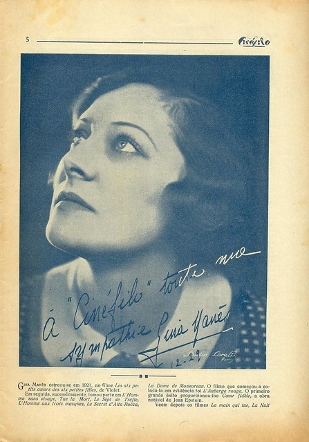 Cinéfilo, No. 73, January 11 1930 - 4