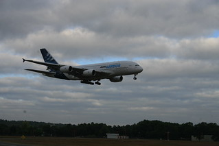 Airbus A380 lands at Bradley International Airport | by WNPR - Connecticut Public Radio