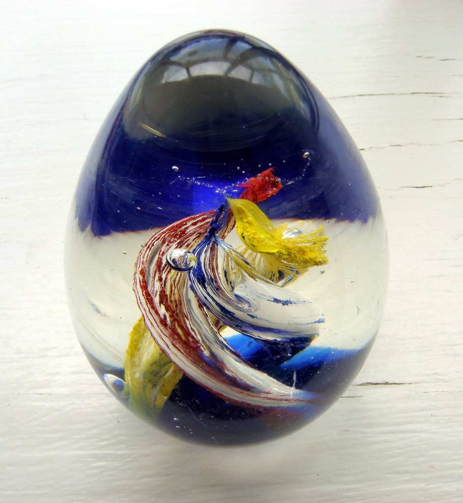 antique paperweight