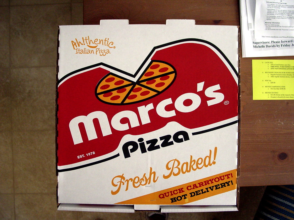 Marco S Pizza Box Who Marco S Location Cuyahoga Falls