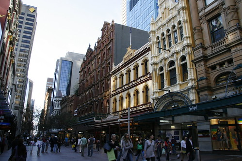 Pitt St Mall, Sydney, Australia