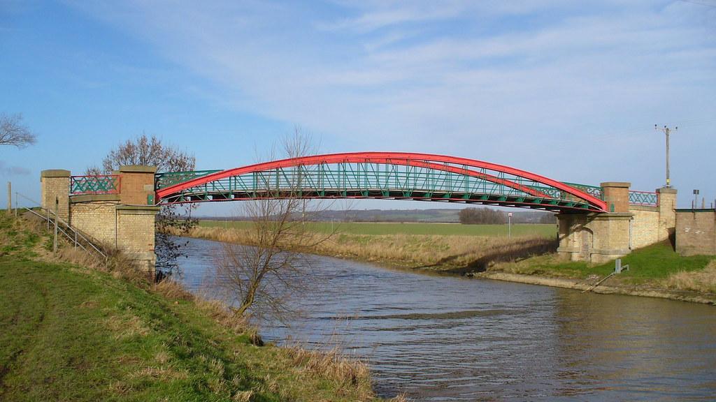 Broughton Bridge Broughton Bridge Spans The New River