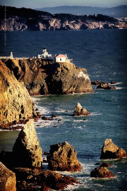 Point Bonita Lighthouse 230 Point Bonita Light Is A
