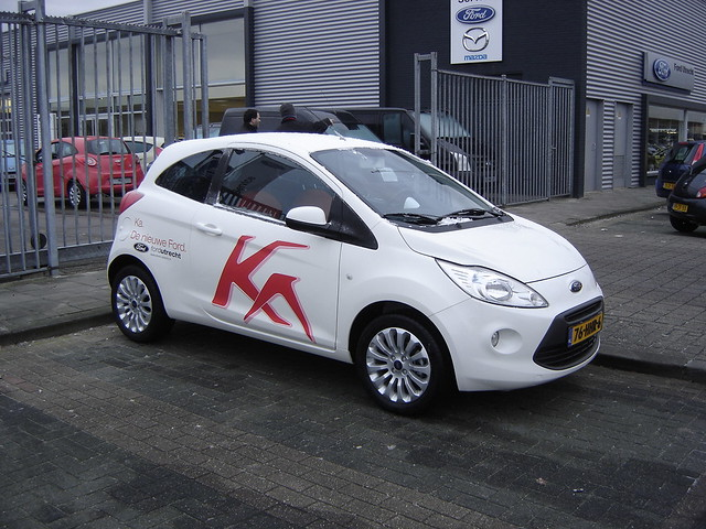 utrecht new 2009 ford ka the smallest ford available in. Black Bedroom Furniture Sets. Home Design Ideas