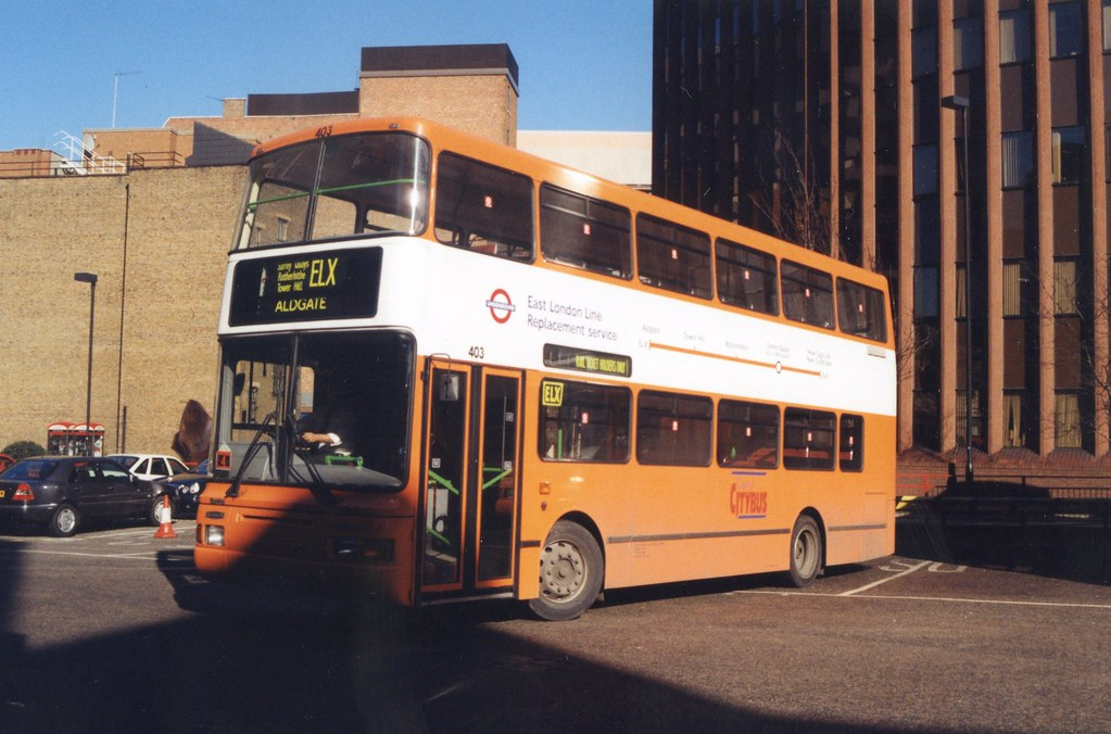 Capital Citybus P903HMH Aldgate 6 3 97 | Flickr - Photo Sharing!