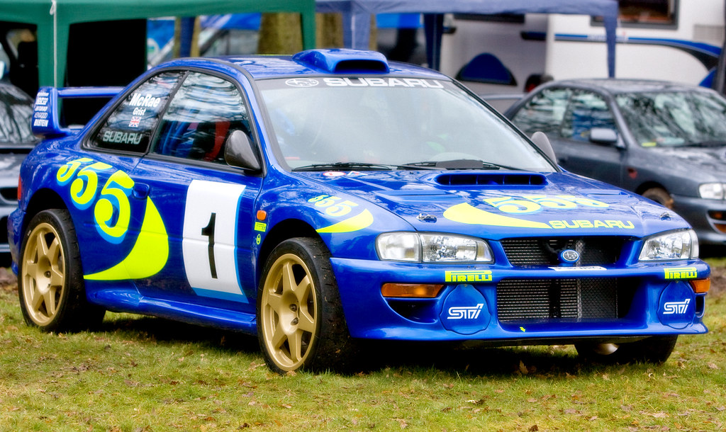 Prodrive Subaru 555 The 2 Door Bodyshell Wide Arched