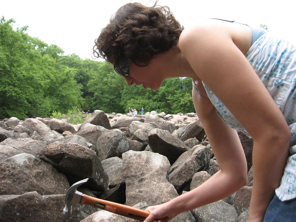 Ringing Rocks County Park Pa