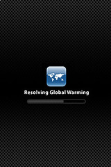 "iPhone - ""Resolving Global Warming"""