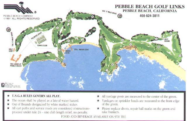 Pebble Beach Golf Courses Pebble Beach Golf Links