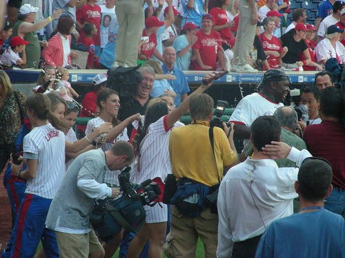ryan howard gets drenched! | by pompomflipflop