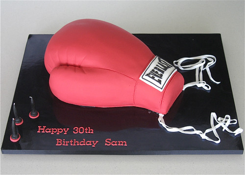 Boxing Cake Images