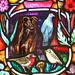 Local Wildlife - stained glass window, Dornoch Cathedral #2